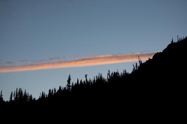 long, thin cloud