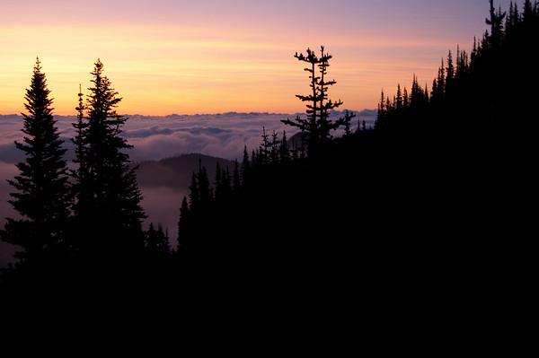 sunrise at marmot pass