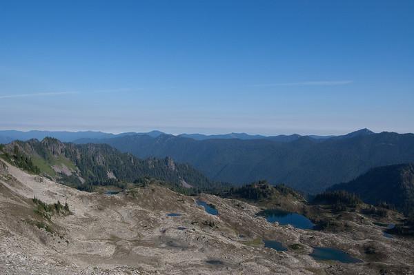 view from Bogachiel Peak
