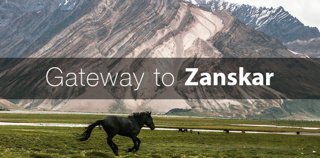 how to reach Zanskar valley