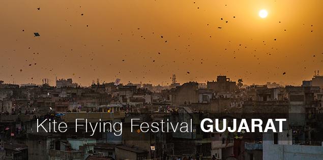 Kite festival Gujarat makar sankranti festival kites India
