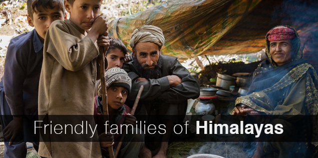 Friendly families of the Himalayas who stunned us with their hospitality