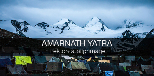 Amarnath yatra, trek on a pilgrimage in Kashmir