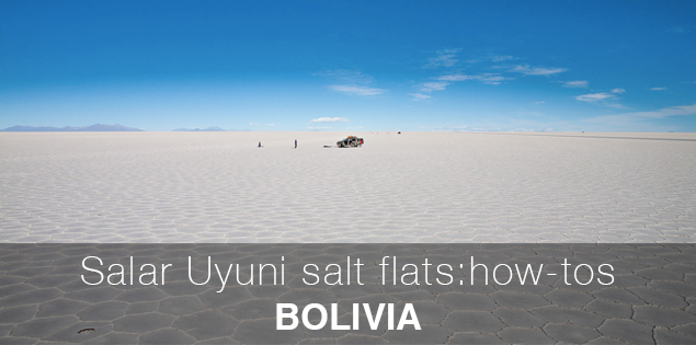 Salt flats of Uyuni, Bolivia