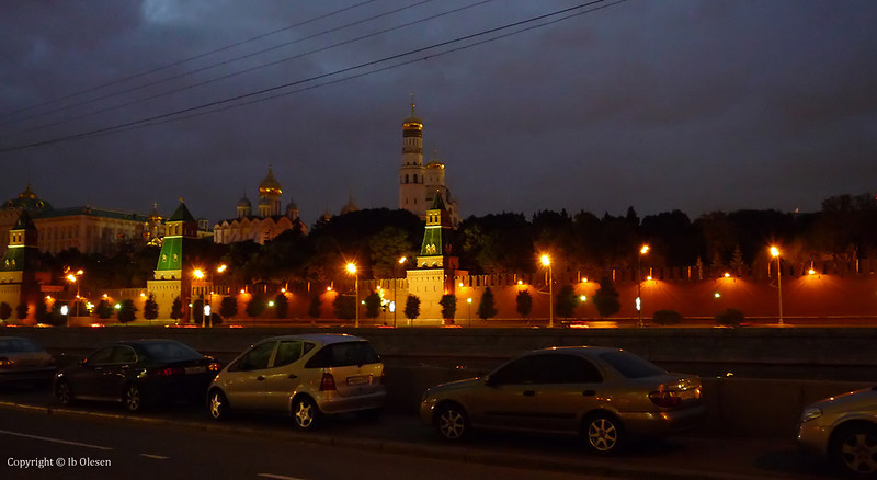 """Kreml By Night""  .  Moskva 2008"