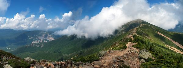 Franconia Notch Mt Lincoln 24x9 b
