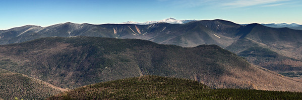 Owls Head, Bonds and Mount Washington from Mount Liberty